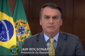 Pronunciamento do presidente Bolsonaro